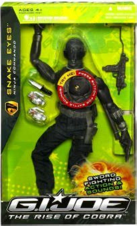 primera vez respuesta GI Joe Movie 12in Ninja Snake Eyes Figura by by by G. I. Joe  marcas en línea venta barata