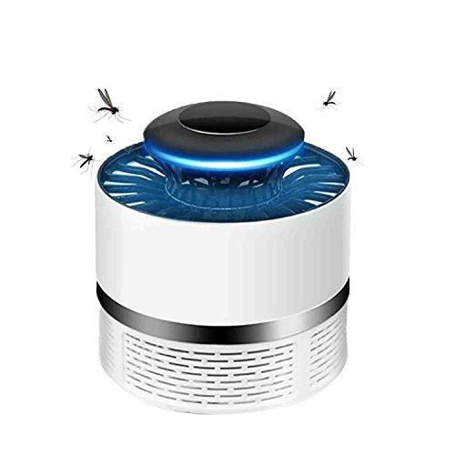Anti Mosquito, TDW Lámpara Led Atrapa Mosquitos USB Mata Mosquitos Electrico (White)