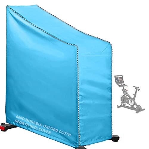 AlaSou - Funda de protección para bicicleta de deporte, funda para bicicleta vertical, impermeable, color azul
