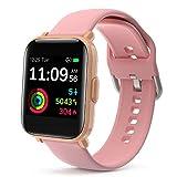 LIDOFIGO Reloj Inteligente Smartwatch Pantalla Táctil Actividad Inteligente IP68 Impermeable Reloj...