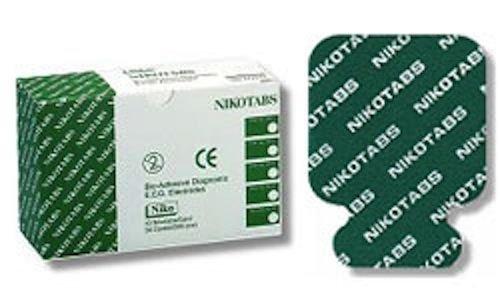 NIKOMED NIKOTABS EKG ELECTRODES #0315 BOX OF 500