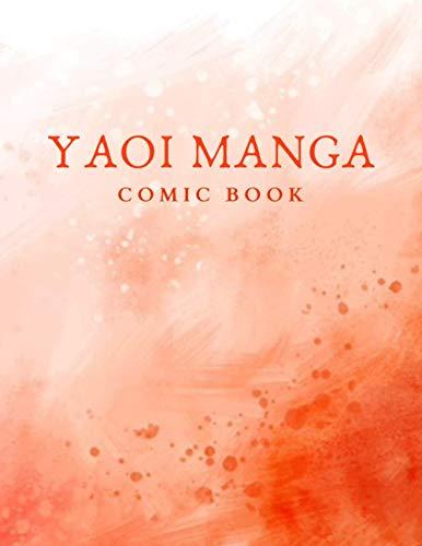 "YAOI MANGA COMIC BOOK: 85x11"" ComicBook"