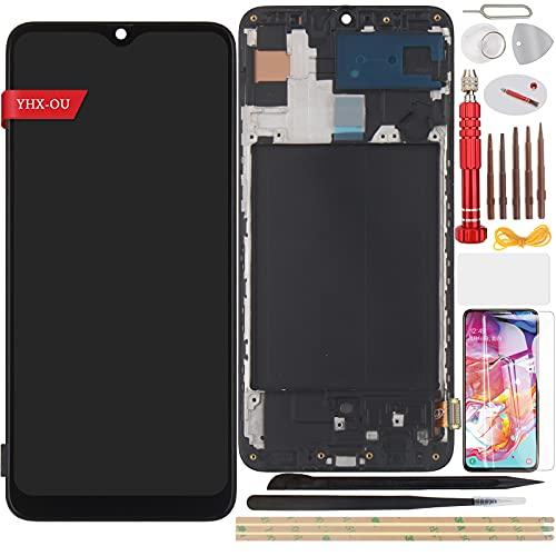 YHX-OU 6.70 pulgadas para Samsung Galaxy A70 SM-A705FN Pantalla LCD Juego de...