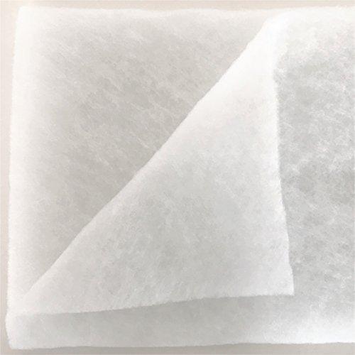 naninoa ®, Schnee- Matte Schneematte Schneedecke Dekoschnee Kunstschnee 100g/m² 1,0m x 1,0m x 1cm