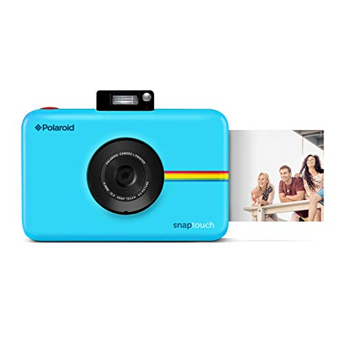 Zink Polaroid Snap Touch Portable Instant Print Digital Camera with LCD Touchscreen Display (Blue)