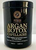 Botox capillaire soin cheveux - Soin Hydratant - Lissant - Démélant - Nourrit les Cheveux - 1000 ml - Masque Capillaire kératine et Huile d' argan + un bonnet -