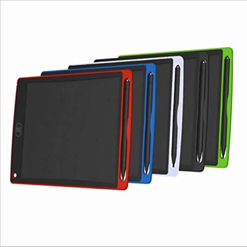 BXGZXYQ 12-Zoll-LCD-Tablet LCD elektronische Tablette Kinderzeichnung Gekritzel Smart Tablet Malbrett Schreibblock Schreibtabletten Grafiktablett (Farbe : Green)