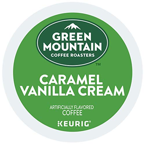 Green Mountain Coffee Caramel Vanilla Cream, K-Cup Portion Count for Keurig K-Cup Brewers (120 Count)