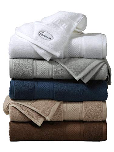 Hotel Household Bath Towels Cotton Adult Soft and Thickened Absorbent Large Men and Women Couples Bath Towels-Coffee Color