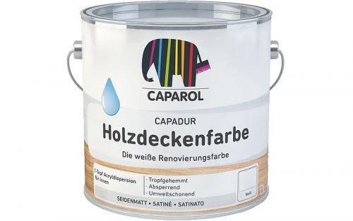 Caparol Capadur Holzdeckenfarbe weiß Größe 2,5 LTR, Farbe weiß