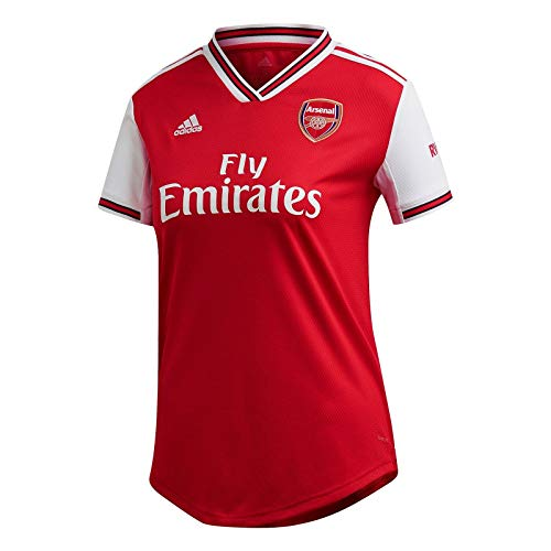 adidas Women's Arsenal FC Home Jersey 2019-20 (Small) Scarlet