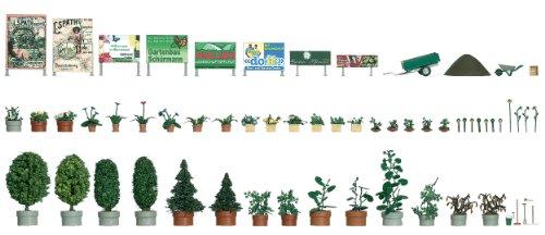 Busch 1211 - Blumen- und Pflanzkübel-Set