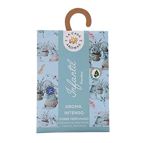 Set de 12 Sobres Perfumados, Bolsitas Aromáticas Olor Infantil, Saquitos para el Armario, Cajón, Ropa de Bebé, Zapatero, Maleta (Infantil)