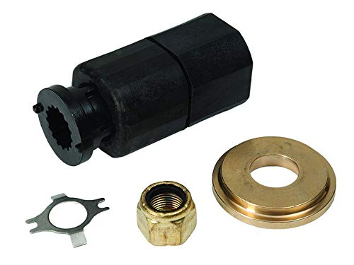 Quicksilver 835257Q9 Flo-Torq III Hub Kit for Mercury Marine 40-60 Hp Bigfoot and 75-115 Hp Outboards