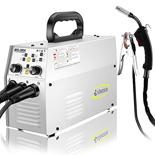 MIG Welder Flux Core Welding Machine 110V 220V...