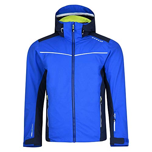 Dare 2b Herren Vigour Waterproof and Breathable Insulated Ski Jacke, Nautical Blue/Outerspace Blue, XL