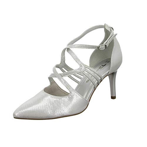 Tamaris Damen 1-1-24440-24 Slipper, Silber (Silver 941), 39 EU