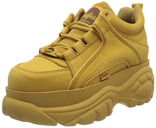 Buffalo London Damen 1339-14 2.0 Sneaker, BEIGE,39 EU