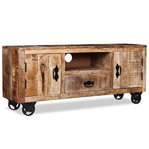 Mueble Tv con ruedas Vintage