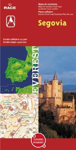 Segovia. Plano callejero y mapa de carreteras (Planos callejeros / serie roja)