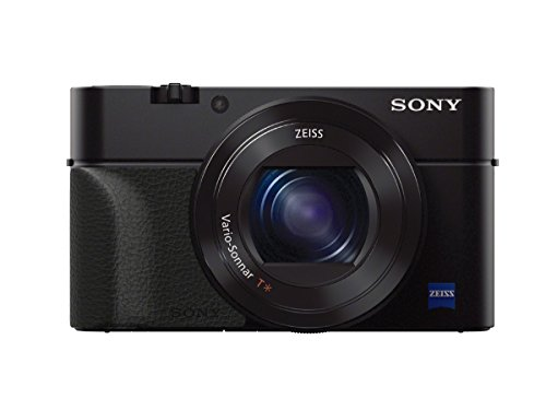 Sony RX100 VI Premium Kompakt Digitalkamera (20,1 MP, 7,6 cm Display, 1 Zoll Sensor, 24-200 mm F2.8-4.5 Zeiss Objektiv, 4K, herausragende Autofokusleistung) schwarz & AG-R2 Griffbefestigung schwarz