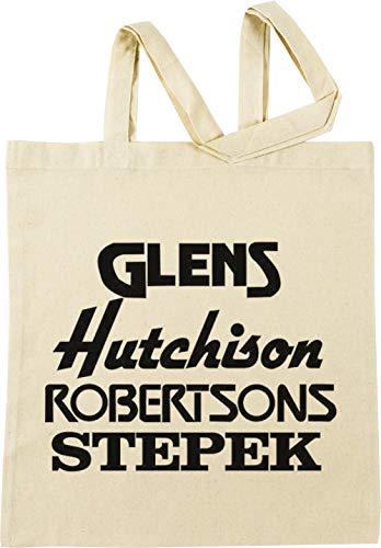 Vendax Glens, Hutchison, Robertson and Stepek Beige Einkaufstasche