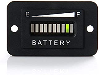 golf cart battery indicator light