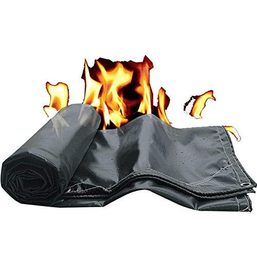 GDMING-dekzeil waterdicht zware brandpreventie lassen deken regendicht zonnebrandcrème brandwerende hek tijdelijke schuur constructie, 17 maten