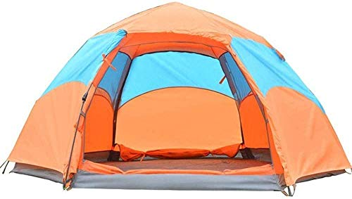 SAIYI 2-3 Person Family Camping Tent, Waterproof Automatic Tent, Convenient for Fishing, Hiking and Beach Trip 240 * 240 * 140cm Automatic Camping Tent eternal