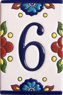 Fine Crafts Imports Mission Tile Number Six