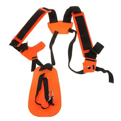 Persiverney -Gar Trimmer Shoulder Strap, Universal Adjustable Double Shoulder Harness Strap Strap (for STIHL FS, KM Series String Trimmer) Professional
