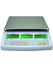 AE ADAM CBC 30 Báscula Cuenta Piezas con Aprobación de Tipo CE y con Capacidad de 30 kg y Legibilidad de 10 g