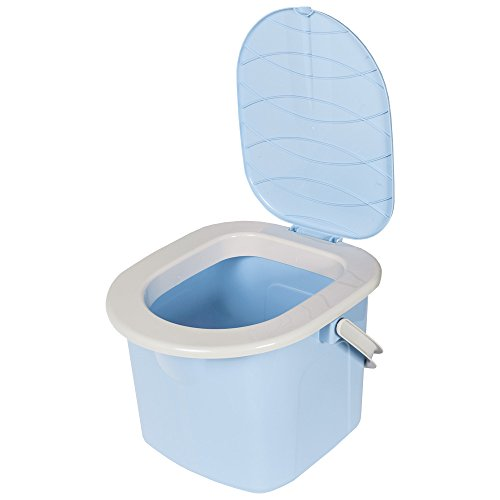 WC portátil color azul