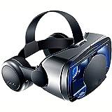 XIXIDIAN VR GRAMES, 3D All-in-One Smart Casco Goggles VR Juegos Auriculares Pantalla grande y Pantalla Pantalla Pantalla DUAL MODO CONTROL DE MODO INDEPENDIENTE CONTROL AJUSTE SOFT Y COMFITORY UNIVERS