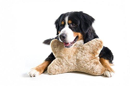 Karlie Anti Stress Kissen für Hunde, Plüsch, 30 cm