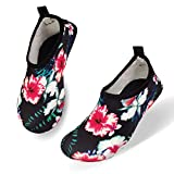 FELOVE Kinder Strand-Schuh Quick Dry Anti-Rutsch-Haut Barfuß Wasser Schuhe Junge Mädchen Aqua Socken für Kleinkind-Pool Garten Meer Sport