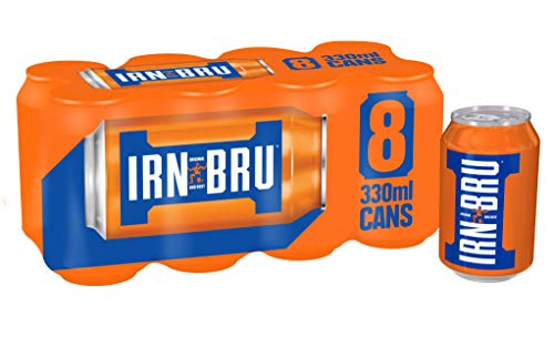 IRN BRU 8x 330ml MULTIPACK - schottisches Nationalgetränk