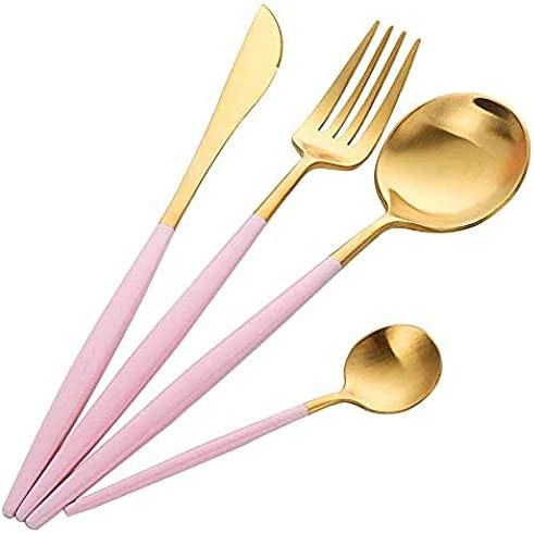 Silverware Set shopping 4-Piece Flatware 18 Silve Genuine Free Shipping 10 Steel Stainless