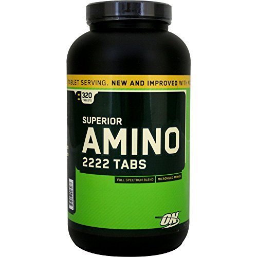 Superior Amino 2222 - 320 tablets by Optimum Nutrition mm