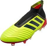 adidas Predator 18+ FG Cleat - Men's Soccer 9 Solar Yellow/Core Black/Solar Red