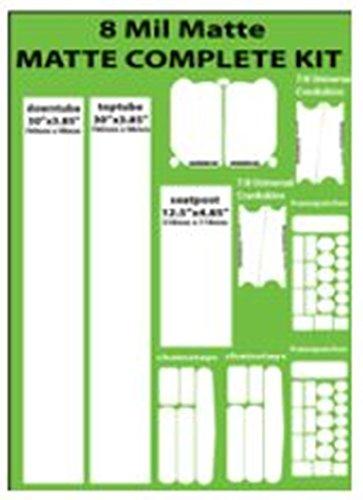 MATTE   8-mil Multipatch Kit   3 Piece matte protection by Crankskins