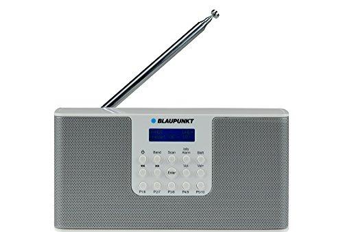 Blaupunkt RX+ 12 Digitalradio mit UKW-Teleskopantenne (DAB+,Netz- / Batteriebetrieb) weiß