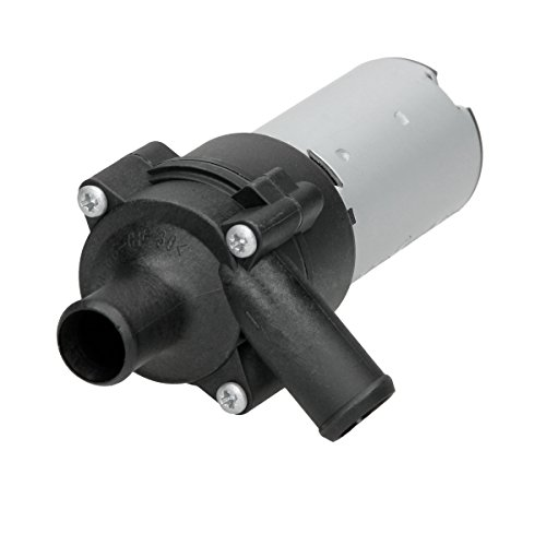 ECD Germany ZWP001 Zusatzwasserpumpe für Heizung elektrisch 12V Wasserumwälzpumpe Zusatzkühlmittelpumpe Pumpe Standheizung