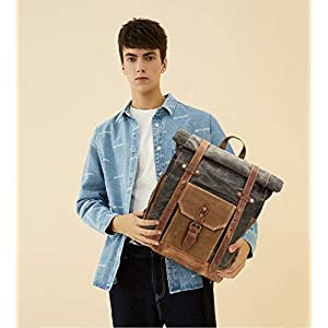 41eRsaQHHfL. SS300  - FANDARE Moda Impermeable Bolso de Escuela Viaje Mochila Hombres 15.6 Pulgadas Laptop Backpack Outdoor Camping Gran…