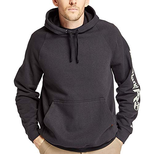 Timberland PRO Men's A1HVY Hood Honcho Sport Pullover - 2X Tall - Black