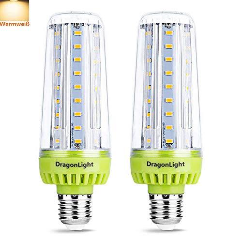 20W Superhelle Mais Licht LED Glühbirnen(Ersetzt 200Watt) - 3000K Warmweiß 2320 Lumen CRI 90+ E27 Edison LED Lampe für Haus Garage Werkstatt Büro Hof Beleuchtung(2er-Pack)