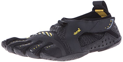 Vibram Five Fingers Signa, Chaussures de Sports aquatiques femme, Black (Black/Yellow), 36 EU