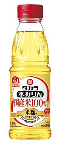 タカラ 本みりん国産米100% 米麹で甘みまろやか [ 300ml×12 ]