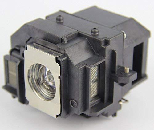 Sekond LP56 - Lampadina di ricambio con alloggiamento, per videoproiettori Epson EH-DM3 MovieMate 60 e MovieMate 62.