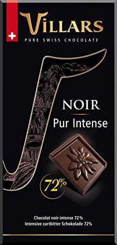 Villars Chocolate Suizo Negro - 100 gr